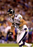 Brandon Stokely, Super Bowl XXXV. Ravens WR Brandon Stokely in Super Bowl XXXV action.  (Image taken from color slide Stock Photo