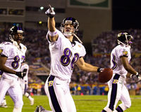 Brandon Stokley, Baltimore Ravens Stock Foto