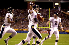 Brandon Stokley, Super Bowl XXXV Fotografia de Stock Royalty Free
