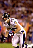 Brandon Stokley, Super Bowl XXXV. Baltimore Ravens WR Brandon Stokley, #80. (Image taken from color slide Stock Images