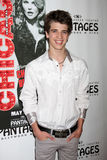 Brandon Tyler Russell arrives at the Opening Night of the Play  Stock Images