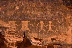 brandpetroglyphsdal royaltyfria foton