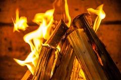 Brandplaats Royalty-vrije Stock Foto
