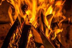 Brandplaats Royalty-vrije Stock Afbeelding