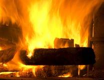 Brandplaats royalty-vrije stock afbeeldingen