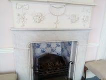 Brandplaats in het herstelde paleis royalty-vrije stock afbeelding