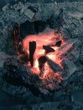 Brandplaatsen Stock Afbeelding