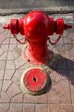 Brandpost i bangkok Thailand Arkivfoton