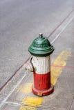 Brandpost i lilla Italien NYC Royaltyfri Bild