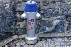 Brandpost i Vaduz Royaltyfri Foto