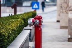 Brandpost på gatan Royaltyfria Bilder