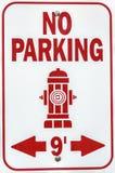 Brandposttecken Fotografering för Bildbyråer