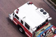 brandräddningsaktion Royaltyfri Foto