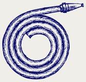 Brandrör vektor illustrationer