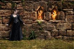Brandritual Royaltyfria Bilder