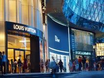 brands lyxig shopping royaltyfria foton