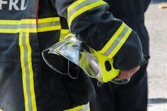 Brandschutzübung lizenzfreies stockfoto