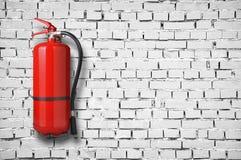 Brandsläckare Arkivfoto