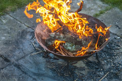 Brandställe 3 Arkivbilder