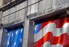 Brandstation NY, motor Co 10 Royaltyfria Foton
