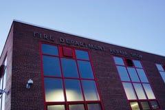 Brandstationreparationen shoppar Royaltyfria Bilder