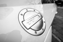 Brandstoftank GLB van de compacte sportencoupé Audi TT RS Royalty-vrije Stock Fotografie