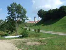 Brandtorn av Grodno Arkivfoto