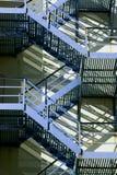 Brandtrap Stock Afbeelding
