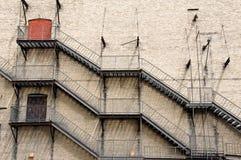 Brandtrappen Stock Foto's