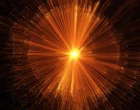 branduitbarsting Stock Afbeelding