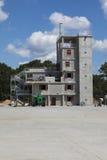 Brandvechters Opleidingsfaciliteit onder Consturction Royalty-vrije Stock Foto