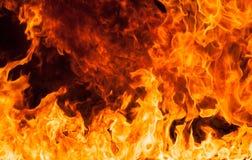 Brandvlammen Stock Fotografie