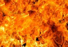 Brandvlammen Stock Foto