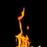 Brandvlammen royalty-vrije stock afbeeldingen