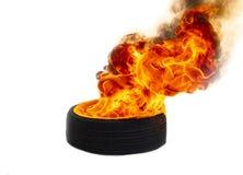 Brandvlammen het branden stock afbeeldingen