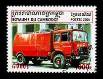 Brandvrachtwagen, Roman Diesel serie, circa 2001 Stock Foto's