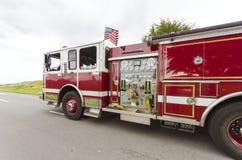 Brandvrachtwagen, San Francisco Royalty-vrije Stock Foto's