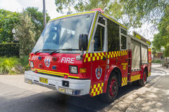 Brandvrachtwagen van de Brand en de Redding NSW Royalty-vrije Stock Foto's