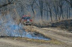 Brandweerauto 1 Stock Foto
