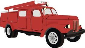 Brandweerauto Royalty-vrije Stock Afbeelding