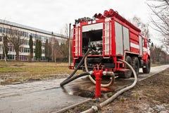 Brandweerautovoertuig Royalty-vrije Stock Afbeelding