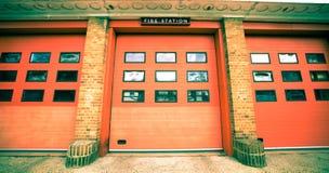 Brandweerkazerne Royalty-vrije Stock Afbeeldingen
