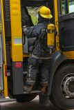 Brandweerlieden stock fotografie