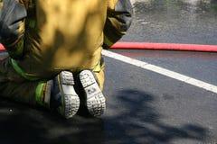 Brandweerman Royalty-vrije Stock Foto