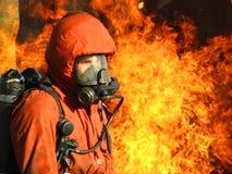 Brandweerman Royalty-vrije Stock Fotografie