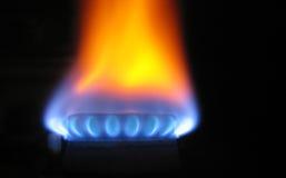 Brandwond met energie Stock Fotografie