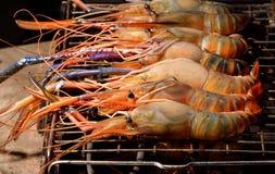 Brandwond shrim royalty-vrije stock foto