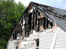 Brandwond uit home3 Royalty-vrije Stock Foto