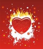 Brandwond van wens vector illustratie