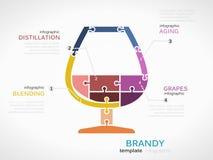 brandy illustration libre de droits